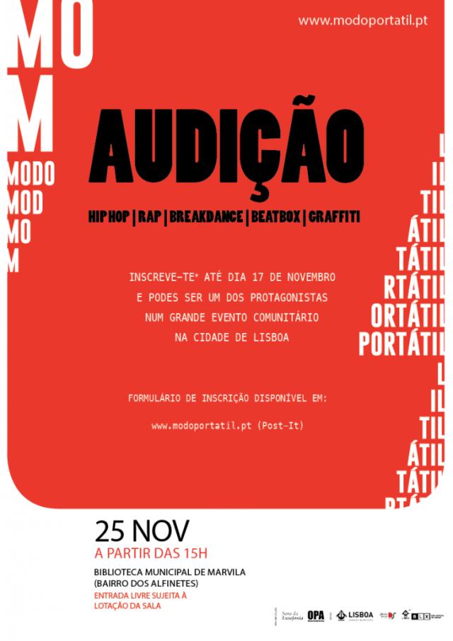 Grande Lisboa: Em busca de novos talentos Hip-Hop